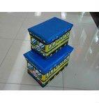 alibaba express 2012 school bus plastic storage box bus stool PU space saver Stool