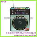 Kd-35 2.0 mmc tarjeta de reproductor de música, fm de radio digital