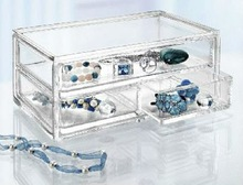 high transparent jewelry acrylic box storage drawers