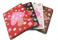 Tablet case mushroom slim pu folio leather case for ipad 2 3 5 ,for ipad case air mini 2 3 4, for ipad cover