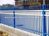 Anping Baochuan 1500 mm *2400 mm Galvanized E-coat 3-Rails Flat Top home wrought iron fencing