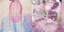 pvc coated cage wire/bird cage wire mesh
