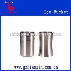 stainless steel straight ice bucket, wine cooler, beer holder