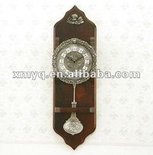 Decoration wooden Wall clock pendulum