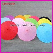Nicely Bridal Colorful wedding nylon umbrella, nylon parasol