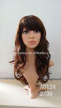 Natrual model model wigs synthetic | perucas | europe girl wig