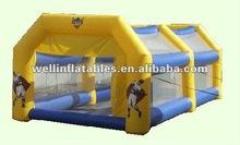 good quality inflatable tennis court/ baseball batting cage/ inflatable batting cage