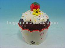 2012 new design ceramic icecream cup lid