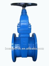 BW516R-NF ductile iron non rising stem resilient flange gate valve