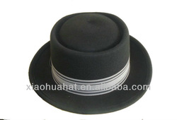 2013 fashion men's wool felt fedora hats