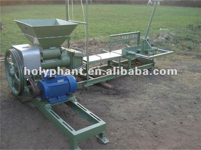 Sd-220 máquina del ladrillo de arcilla / no vacío extrusora de arcilla / Manual fabricante de ladrillos
