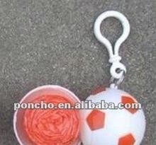 pe sports poncho & samll footballball& tennis ball basketball&