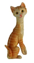 Resin brown small cat decoration