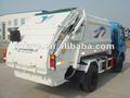 5m3 compresible camión de basura