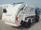 5m3 compressible garbage truck