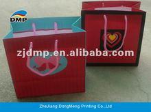 2012 New Design Paper Gift Bag for Valentine