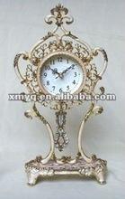 Metal craft table clock