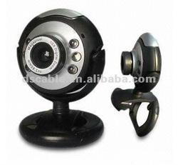 Webcam with Microphone LED Lights 30Mega Pixel,Plug and Play