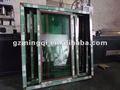 marina de pvc ventana corredera de cristal tintado y piezas de rodillos