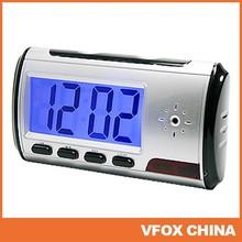 720*480 Clock Camera Security Hidden DVR Camera Motion Detector Min DV with Remote Control