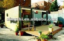 beautiful interior design container houses/restaurant container/office