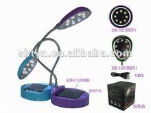 solar power portable table led light XSK-L02
