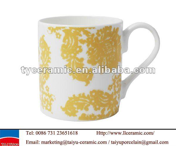 antique printing new bone china coffee mug