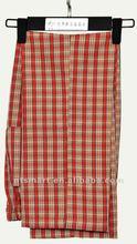 Check Chef Trousers/Pants Uniform