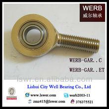 PHS POS Nickel Plated Female Thread Rod End Bearings