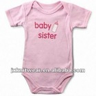 100% Cotton Baby breathable romper body suit