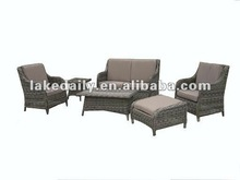 patio furniture wicker chat set