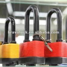 Waterproof Laminated lock with Long Shackle