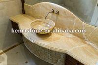 Vanity Top Honey Onyx Wholesale Bathroom Vanity