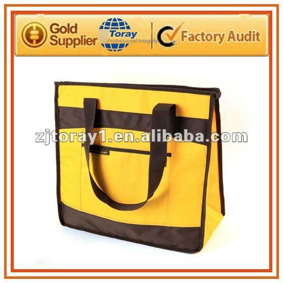custom polyester folding shopping bag