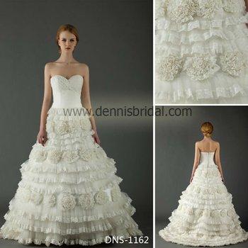 2013 Hot! More elegant sweetheart sleeveless mermaid corset bodice wedding dresses