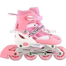 Adjustable boy's inline skate shoes