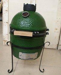 12 mini green ceramic kamado charcoal grill