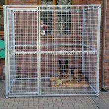 welded modular dog cage