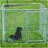 chain link modular dog crate