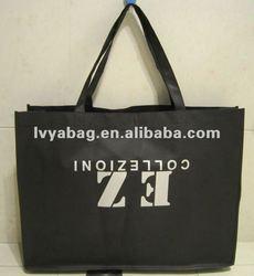 Black non woven promotional bag