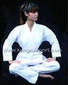 Blanco uniforme de karate/artes marciales uniforme