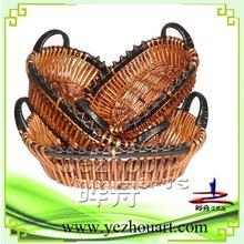 2012 new style decorative wicker baskets
