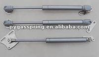 Plastic balljoint end fitting gas strut for cabinet door