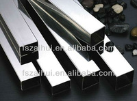 welded decoration stainless steel square tubing standard sizes in grade 201 202 301 304 316 430 304L 316L with competitive price