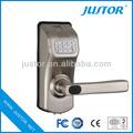 más seguridad digital cerradura de la puerta de madera para el vidrio y la puerta ez0113a