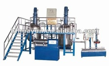 emulsion paint production line, water based paint manufacturing equipment, water base paint manufacturing