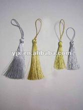 Metallic fringe tassel for decoration /curtain