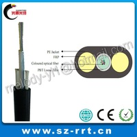 Unitube 2 FRP Flat FTTH Fiber Optic Cable Manufacturers