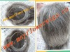 Thin skin(PU) hair pieces/unit toupee 100% human virgin remy hair most natural looking