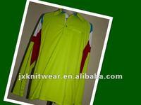 T/C polo collar long sleeve custom jersey football model